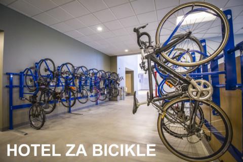 Hotel za bicikle i E-bike ZIMOVNIK za bicikle:  već od 33 rsd dnevno