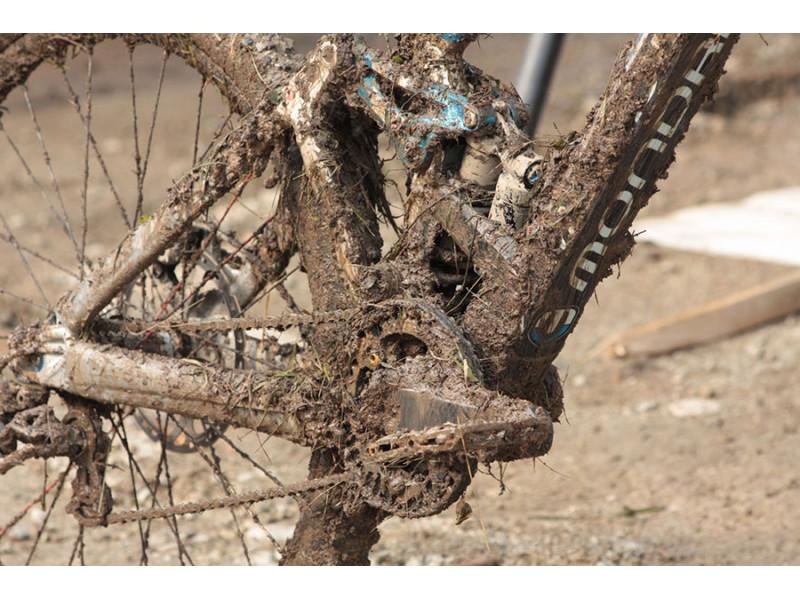 Kako očistiti bicikl od blata?