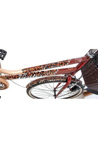 Bicikl Fashion Visitor Cushion 28 krem braon 6brzina