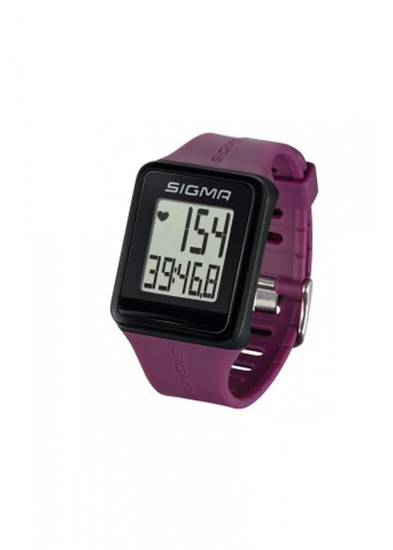 Fitness sat - Puls monitor Sigma ID.GO ljubicasti