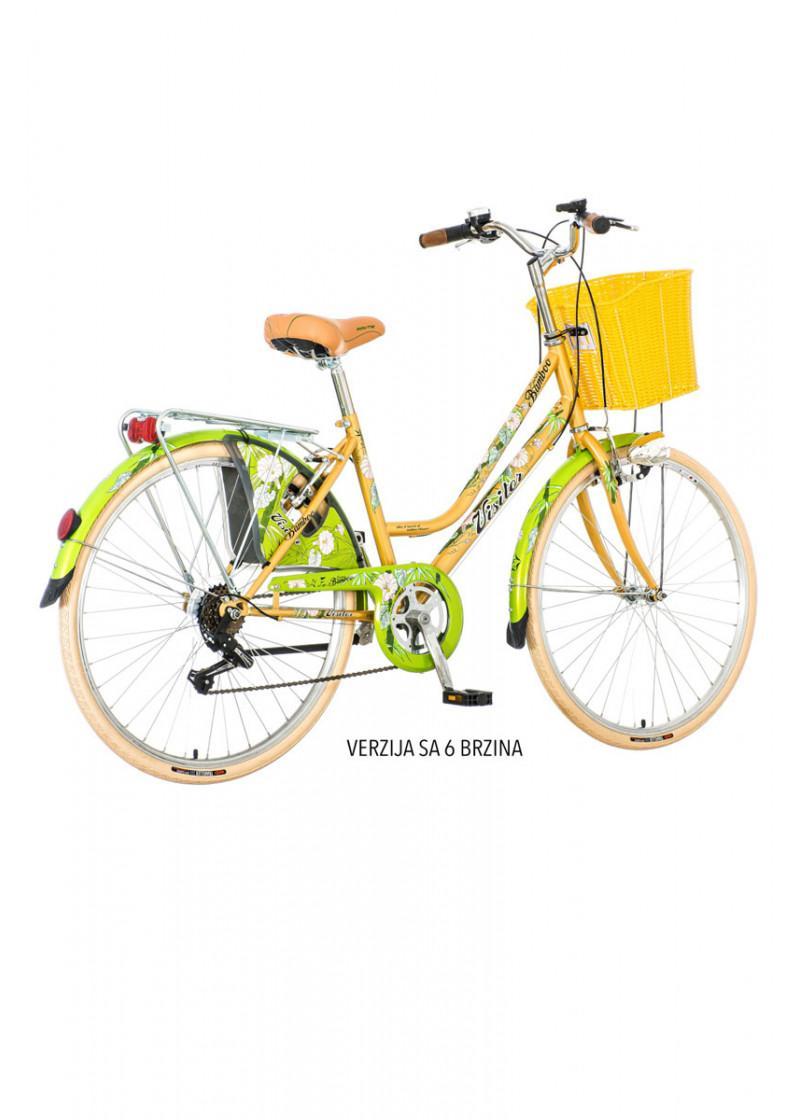 Bicikl gradski Visitor Fashion  Bamboo 26