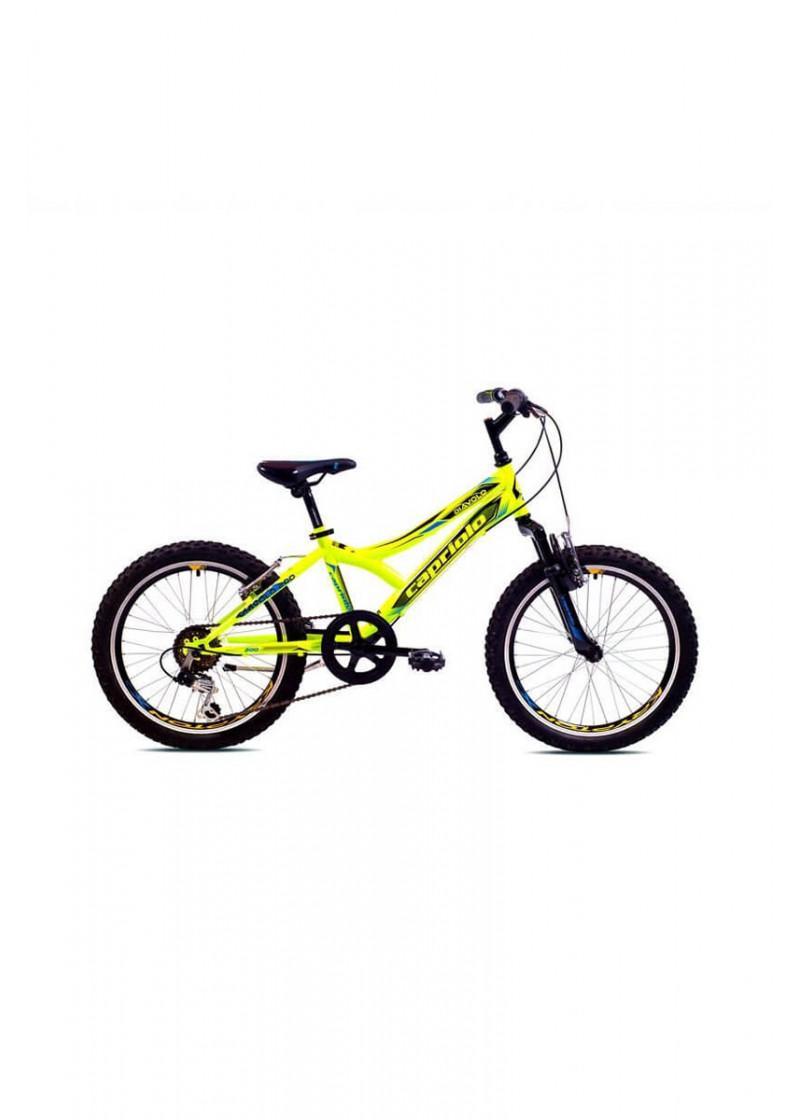 Bicikl Capriolo Diavolo 200 FS žuto-crno