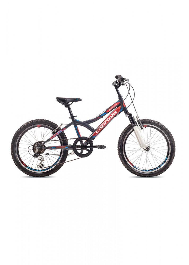 Bicikl dečiji Diavolo 200 fs sivo-crveni