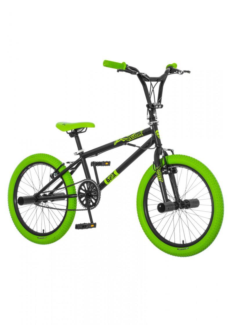 Bicikl SCOUT BMX FREESTYLE CRNO ZELENI