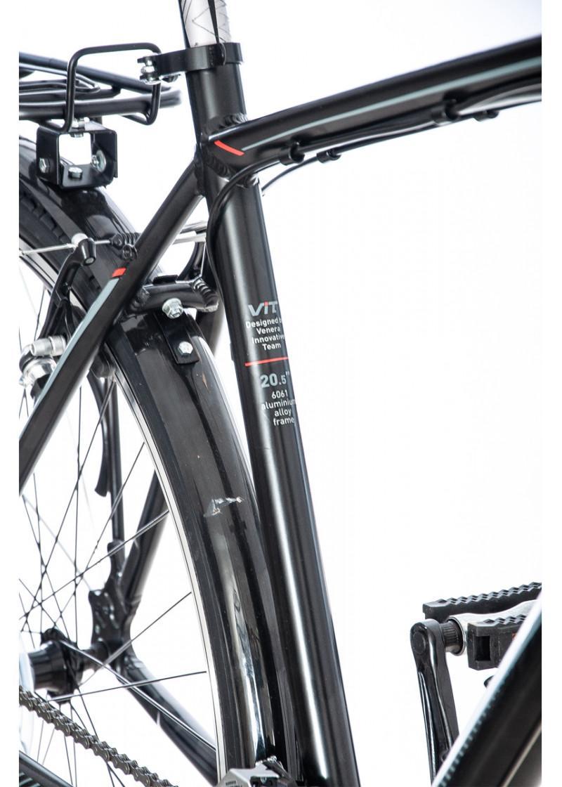 Bicikl VISITOR Trekking TRE28SP crno sivi
