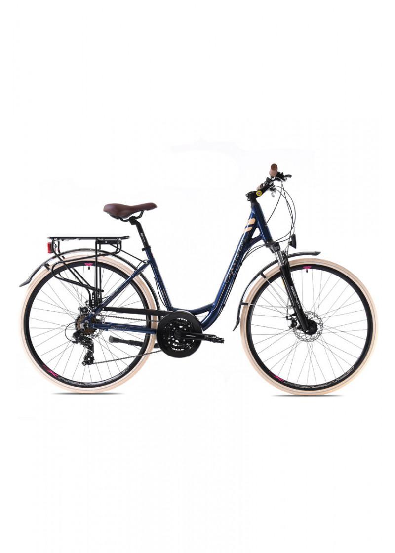 Bicikl Capriolo Elegance Tour Lady disc 28 AL plavi